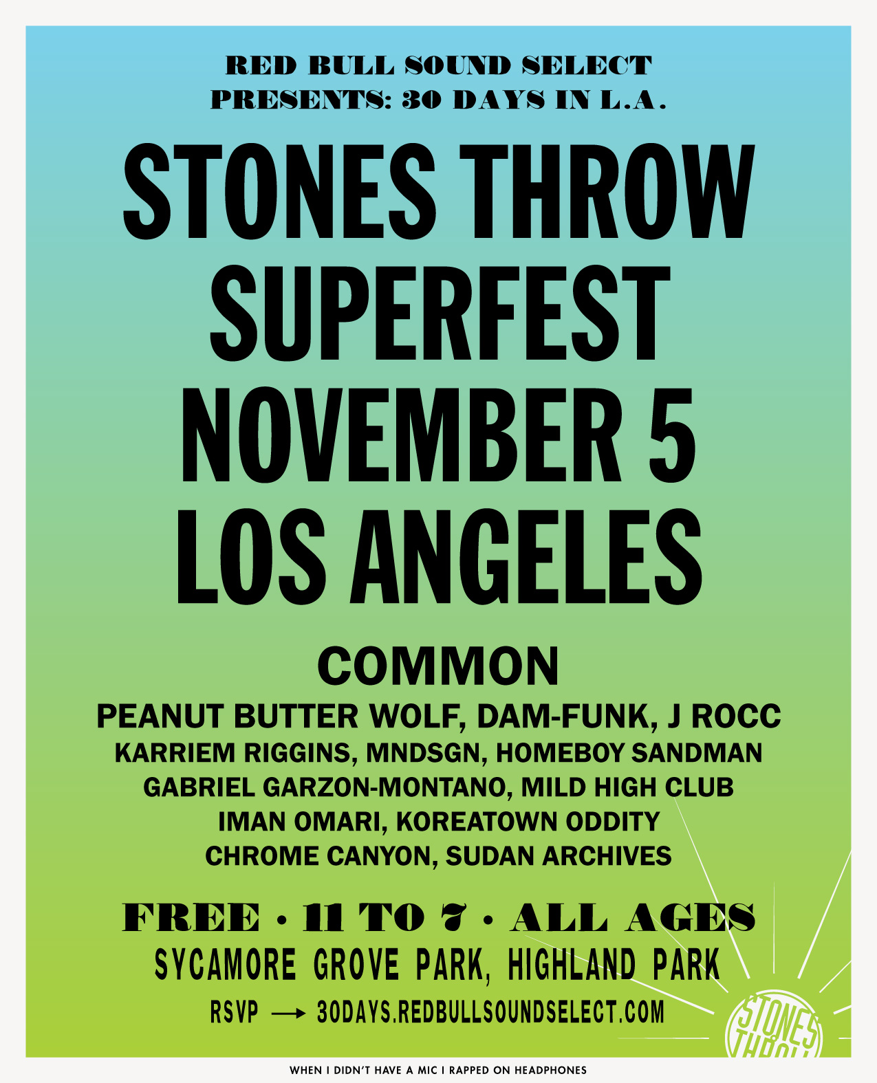 Stones Throw celebrates 20 years with free Super Fest